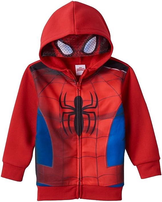 Marvel Spiderman Hoody Red 2T