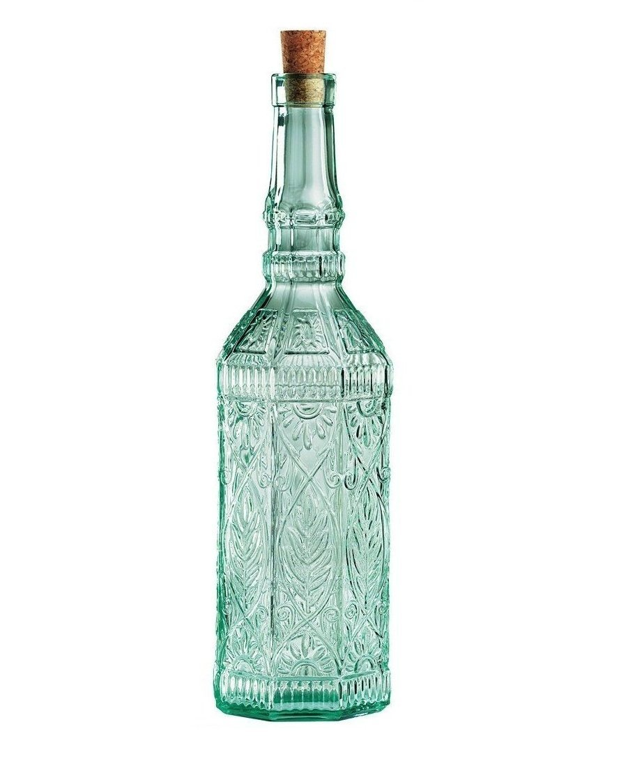 Country Home Fiesole Glass Oil/Vinegar Bottles (71.4cl) (Set of 2)