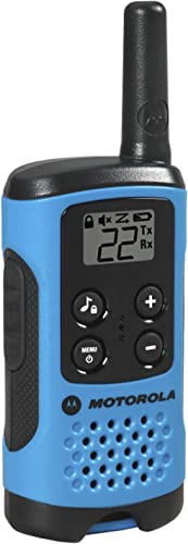 Motorola T100TP Talkabout Radio, 3 Pack Renewed