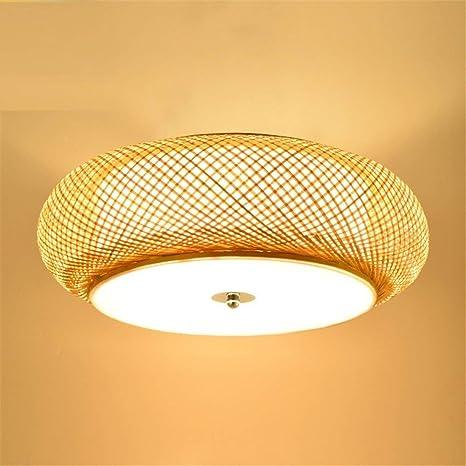 HBA Cerámica de Junco de bambú japonés Creative LED Lámpara ...