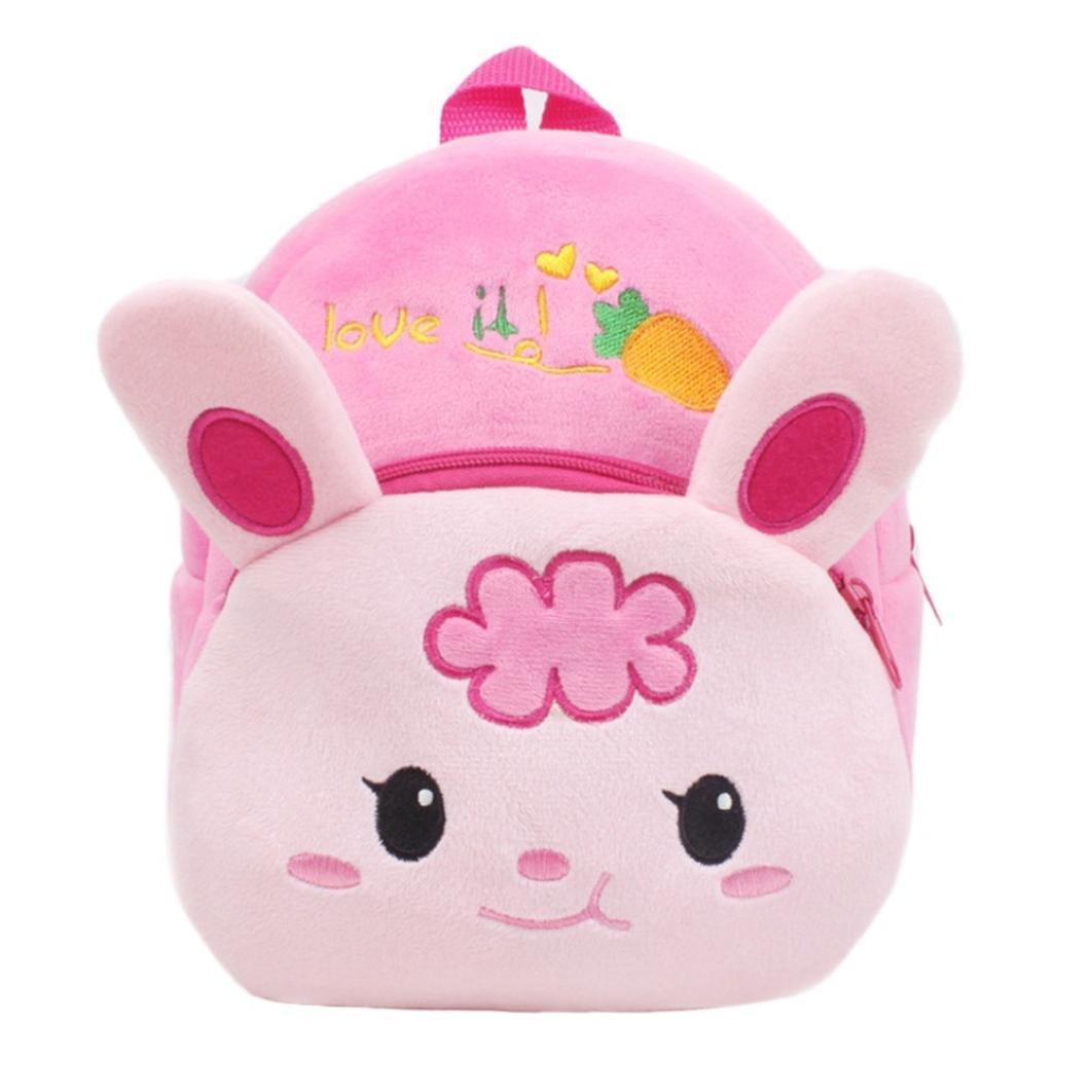 Sumen Children School Backpack,Girls Boys Super Cute Cartoon Animal Mini Backpack Travel Bag (D)