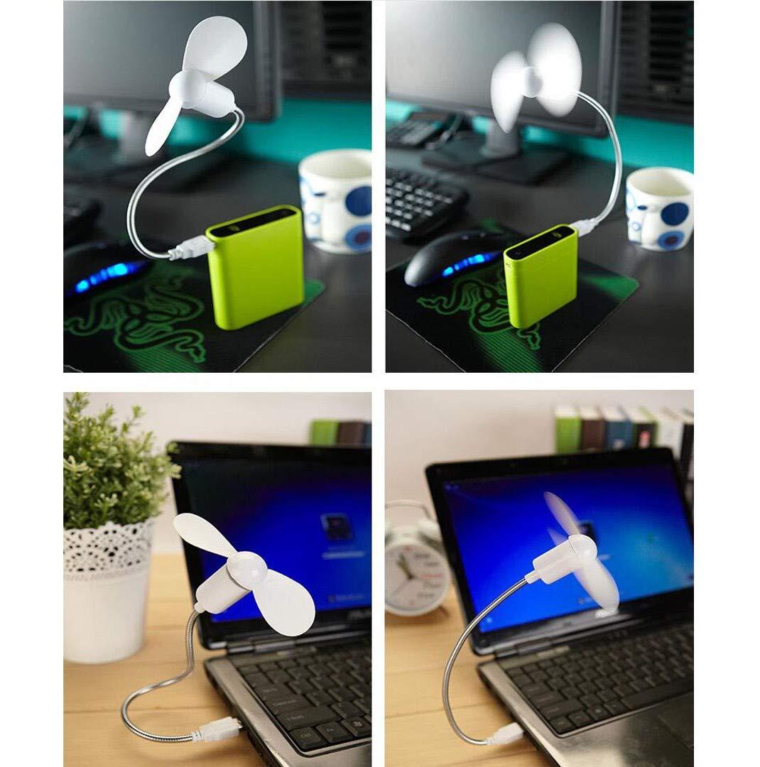 Mini Portatile Creative USB a Forma di Serpente Ventola ad Alta Potenza Ventola per Notebook Computer Desktop Piccola WZY Mini Ventilatore di Alimentazione USB Alimentato Via USB