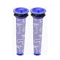 2PCS Washable Pre Motor Filter Replacement for Dyson DC58 DC61 DC62 74 V6 V7 V8 Vacuum Cleaner Absolute Vacuum…