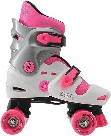 No Fear Kids Quad Skates Girls Skate