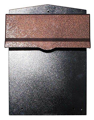 Qualarc LIB-AC-LM6-810 Liberty Rear Access Locking Mailbox with 8