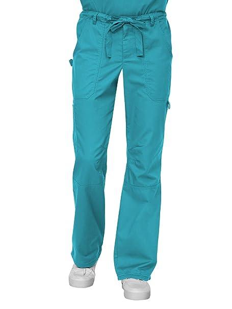49dd40fc612 Amazon.com: KOI James Elastic Men's Scrub Pants with Zip Fly and ...