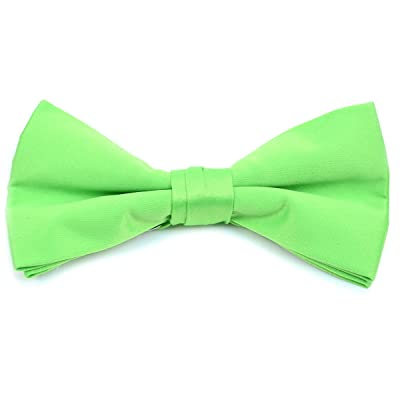 6 Pieces Pack Boy's Stylish Poly Satin Banded Clip On Bow Ties