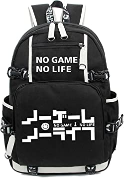 Siawasey Anime No Game No Life Cartoon Messenger Bag Shoulder Bag