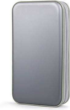 Porta CD,Coofit Estuche CD de 80 Disco Almacenamiento CD DVD Fundas CD Protectora: Amazon.es: Electrónica