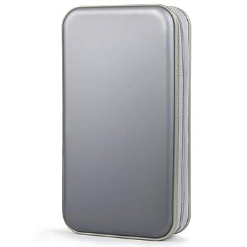 Porta CD,Coofit Estuche CD de 80 Disco Almacenamiento CD DVD Fundas CD Protectora