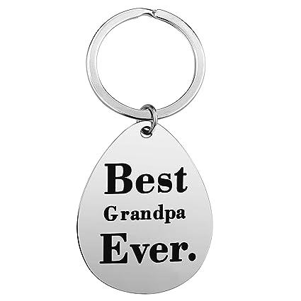 Amazon.com : Best Grandpa Birthday Gifts - Grandpa Keychain ...