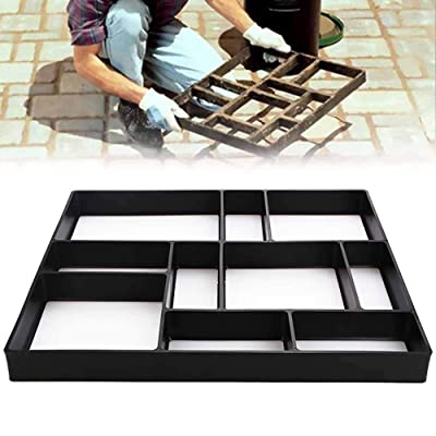 SUNJULY Walk Maker, Garden Reusable 10 Grids Concrete Path Maker Molds Stepping Stone Paver, Pathmate Stone Moldings for Lawn Patio Yard DIY Walkway Pavement Paving Moulds - 17.6915.72in : Garden & Outdoor