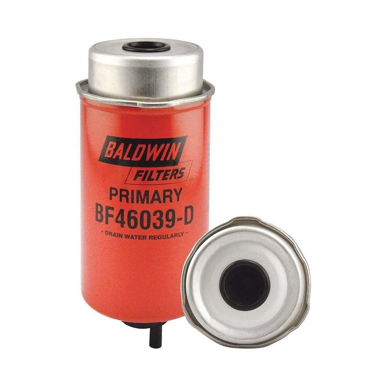 7-3//4 in.L Can-Type Baldwin BF46039-D Heavy Duty Fuel//Water Separator