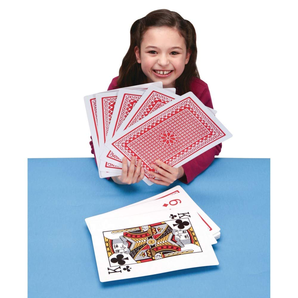Super Jumbo Playing Cards by S&S Worldwide