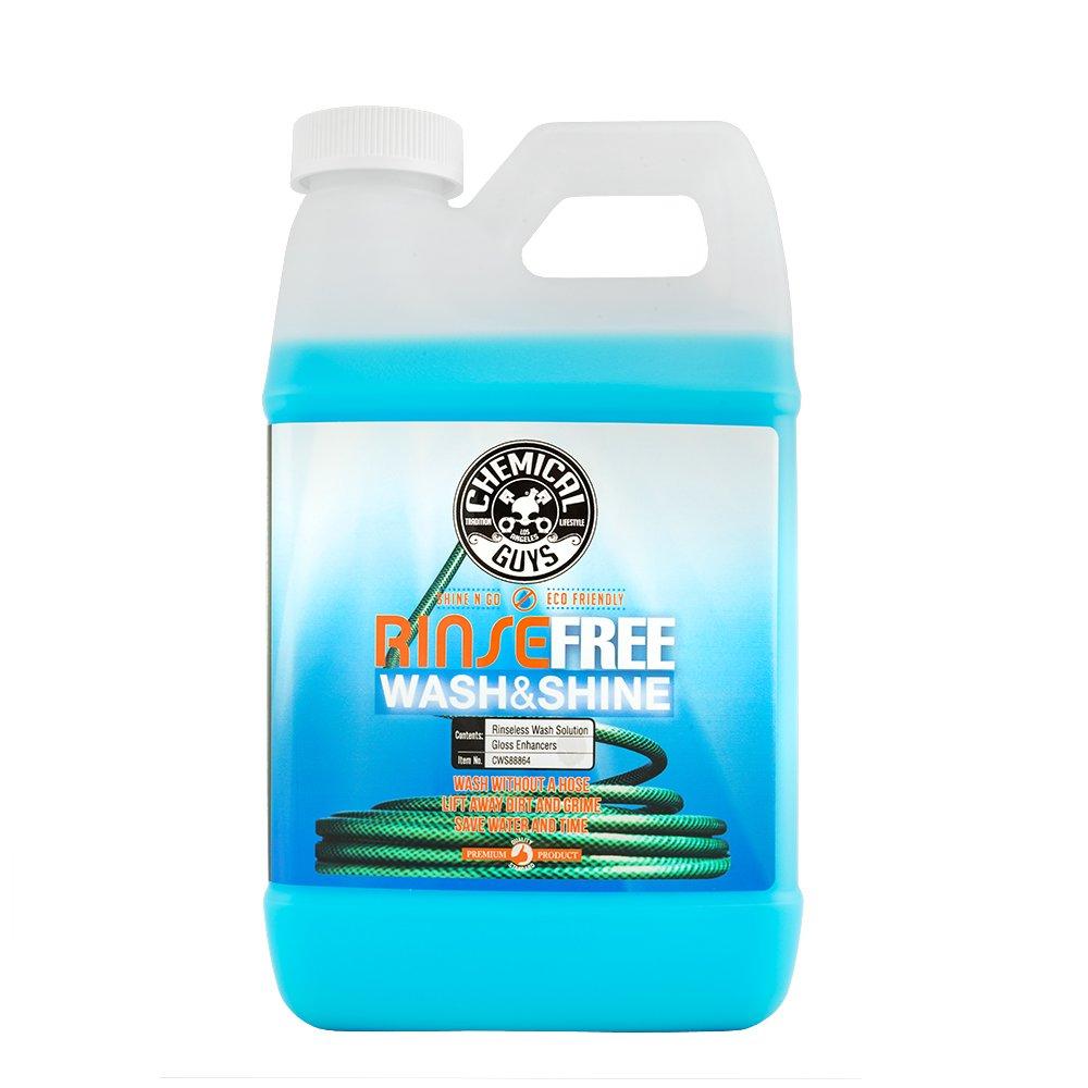 Chemical Guys CWS88864 Rinse Shine, The Hose Free Rinseless Car Wash (64 oz), 64. Fluid_Ounces