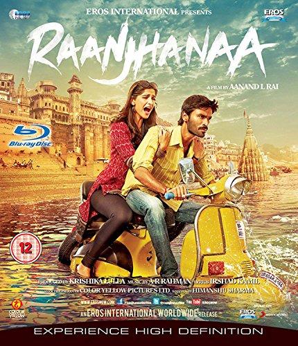 Raanjhanaa (Hindi Movie / Bollywood Film / Indian Cinema Blu Ray)