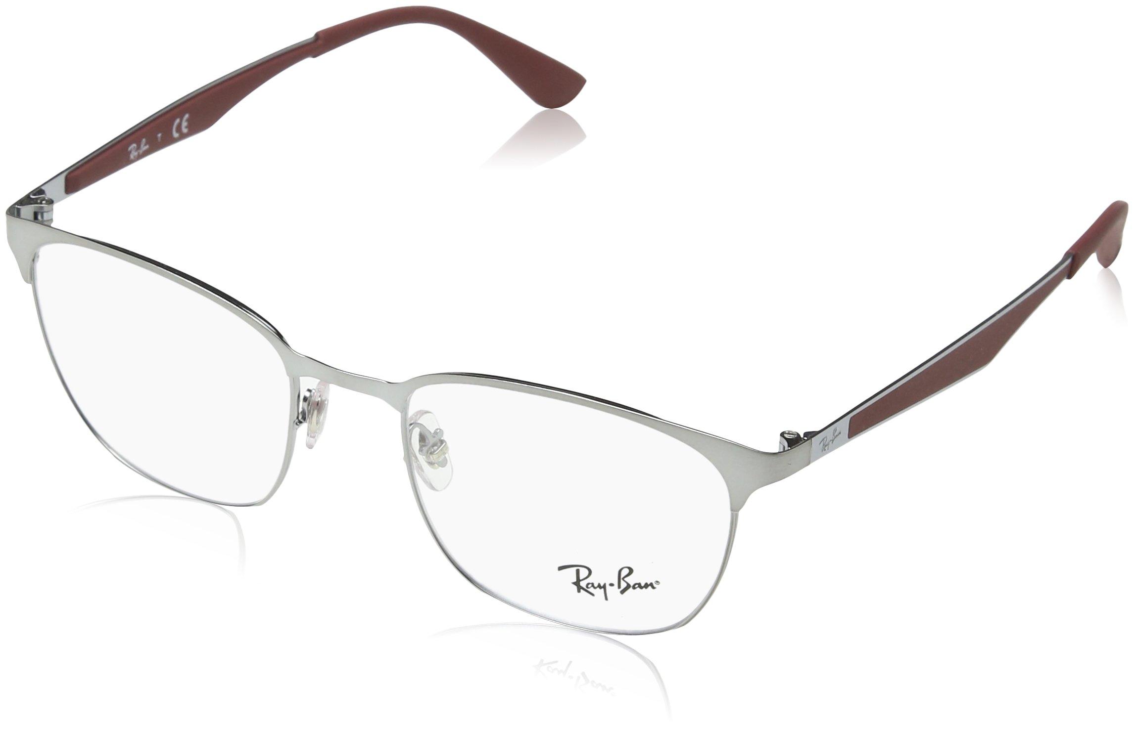 Ray-Ban RX6356 Eyeglasses Brushed Gunmetal 52mm
