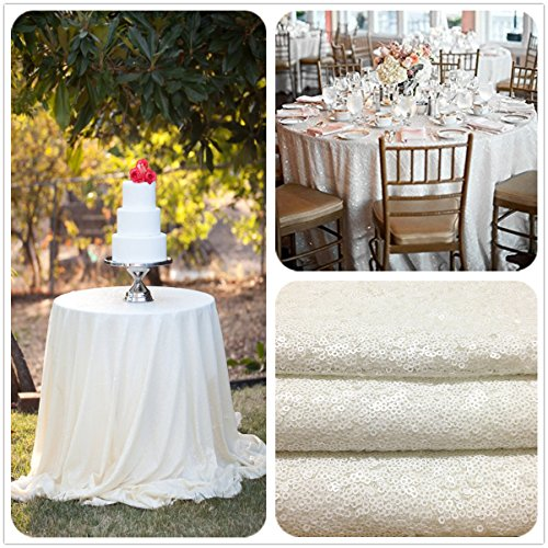 Square Sequins Wedding Tablecloth Sparkly
