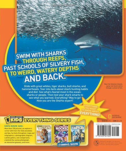 National Geographic Kids Everything Sharks: All the shark facts, photos, and fun that you can sink your teeth into by National Geographic (Image #2)