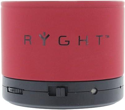 Ryght Y-Storm - Altavoz portátil para Smartphone, rojo: Amazon.es ...