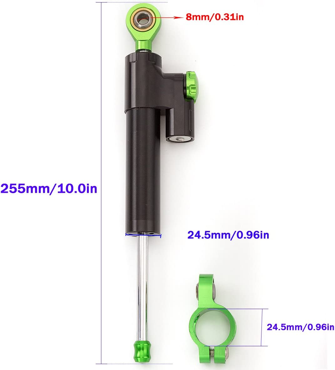 Z1000 03-16 EX300 NINJA300 2013-2016 Motorcycle Adjustable Universal Steering Damper Stabilizer Control For Kawasaki ZX6R 2005-2017 NINJA 250R EX250 2008-2012 ZZR1400 ZX14 06-12 ZX10R 04-05