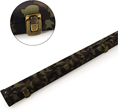 Funky Chalk 1pc Wide Snooker Cue Case Green Camouflage-Holds 2 ...