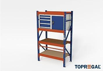 Altura ajustable Mesa Taller de Mesa Pack mesa H200 X B120 X T60 ...