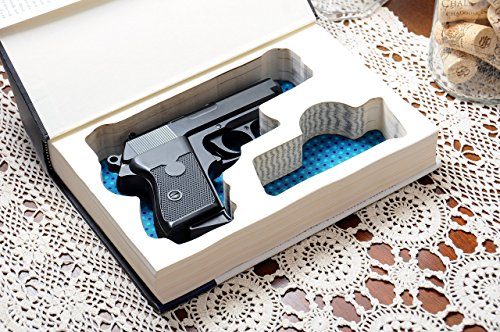 Custom-made Gun Storage for Compact Handguns - Made-to-Order - w/ Magazine Slot - Fits: Glock, Ruger, Springfield, S&W, Colt, CZ, Sig Sauer, Taurus, Kel-tec, Walther