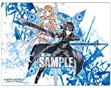 Sword Art Online Kirito & Asuna Card Game Character Rubber Play Mat Collection Vol.004 4 Anime Girl Lightning Flash and Black Swordsman SAO