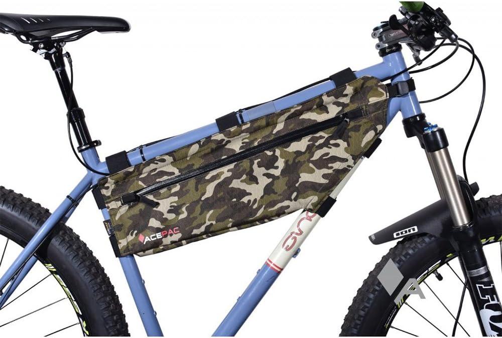 Black Acepac Zip Bicycle Frame Bag Large 129305
