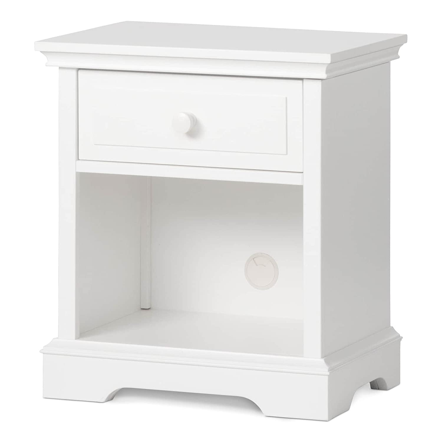 Child Craft Universal Select Night Stand, Matte White Foundations F09428.46