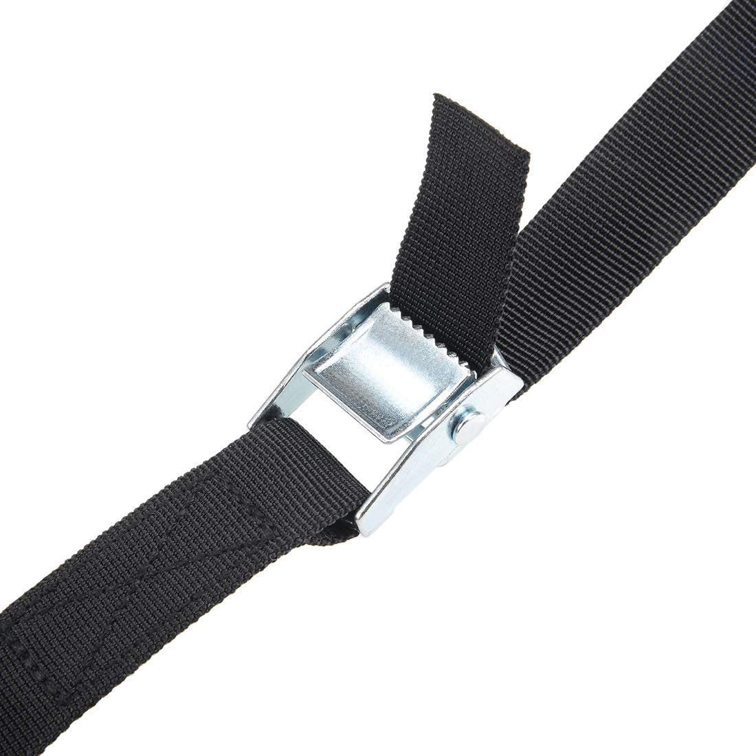 Lashing Strap 29.5-Foot 1-Inch Cargo Tie Down Straps with Cam Lock Buckle Up to 250Kg Black