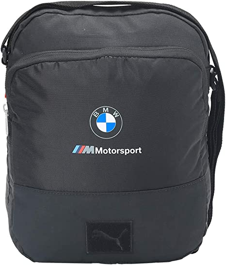 Puma BMW M Motorsport Large Portable Sporttasche Schwarz