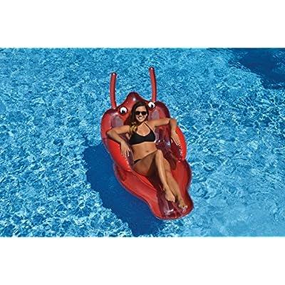 Swimline Adult Lobster Lounge Pool Float: Toys & Games