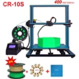 Creality CR-10S S4 3D Printer DIY Kit Large Printing Size 400x400x400mm With 2kg CCTREE PLA 1.75mm Filament Monitor Dual Z Axis T Screw Rods