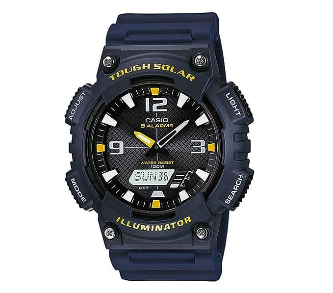 Casio Collection Reloj de hombre solar Reloj Ana Digi 5 ...