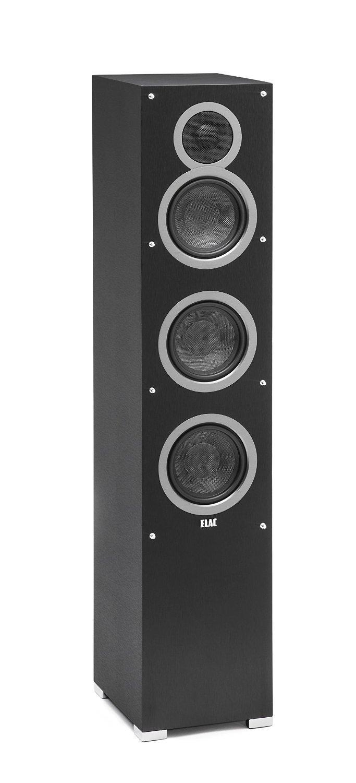 Elac Debut F5 Negro Altavoz - Altavoces (De 3 vías, 1.0 Canales, Alámbrico, 42-20000 Hz, 6 Ω, Negro)