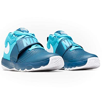 sports shoes 91fb3 c8cdd Nike Team Hustle D 8 (GS), Chaussures de Basketball Homme, Multicolore Force