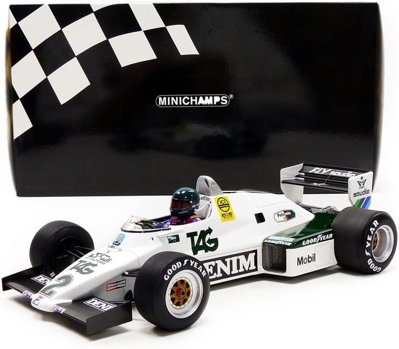 117 830002 Williams Ford FW08C J Laffite 1983 F1 Minichamps 1//18 Scale