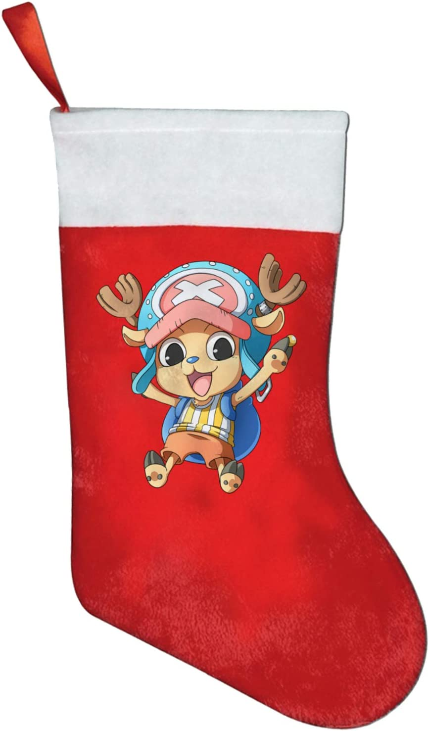 NYF Anime One Piece Tony Tony Chopper Christmas Stockings Socks for X-Mas Tree Party Home Decorations