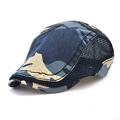 1a41c22ccd9b10 Sommer Herren Damen Cowboyhut Fashion Klassiker Camouflage Bequeme Größen  Schiebermütze Mützen Schirmmütze Baskenmütze Hat Kleidung (