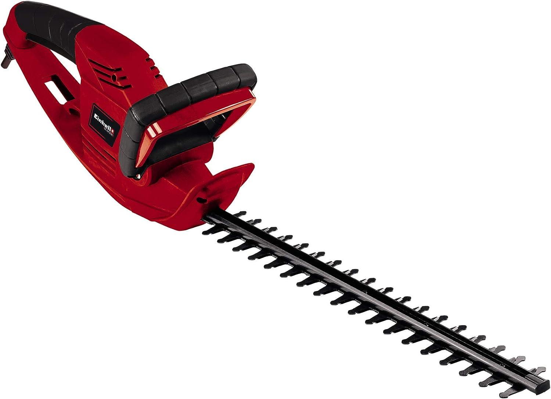 Einhell GC-EH 5747 - Recortasetos eléctrico, 570W (longitud de corte: 465mm, longitud de la hoja: 530mm, espacio entre dientes: 18mm) (ref.3403742)