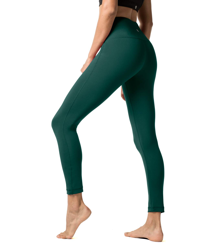 Lapasa Women's Sports Leggings NON SEE-THROUGH Yoga Pants Hidden Pockets