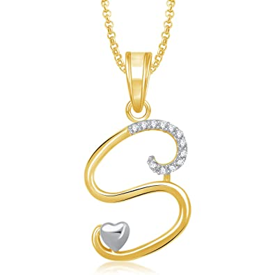 Buy meenaz crystal brass gold plated pendant necklace for women meenaz crystal brass gold plated pendant necklace for women mozeypictures Image collections