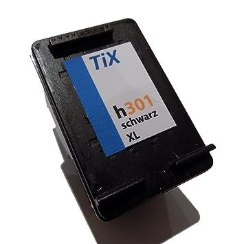 TIX h301 negro de tinta, reemplaza a HP 301 XL HP301 HP-301 ...