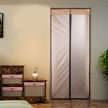 Magnetic Thermal Insulated Door Curtain Enjoy Your Cool Summer And