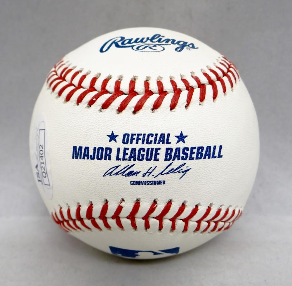 Mariano Rivera Autographed Rawlings OML Baseball W/ WS MVP JSA Authenticated