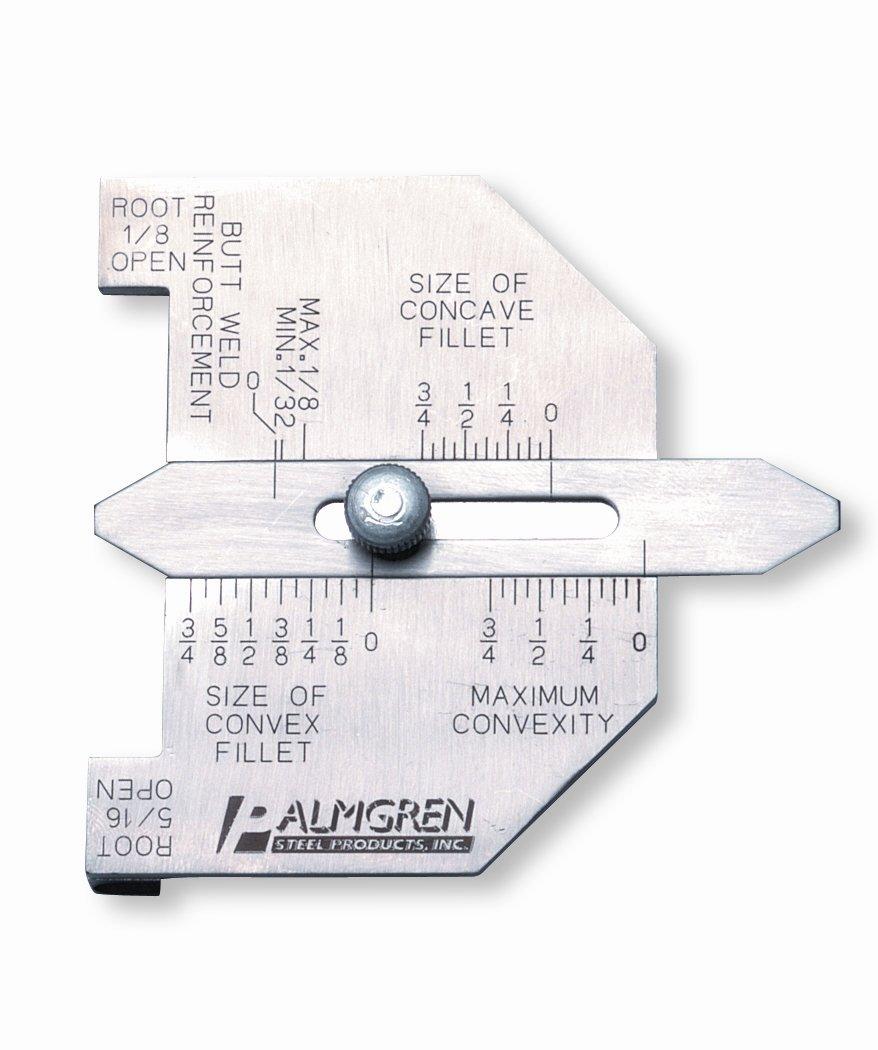 Palmgren Butt-weld /& Fillet-weld gauge