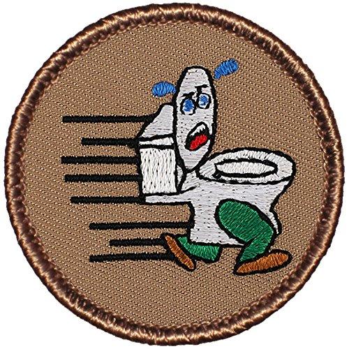 "hot sale Running Toilet Patrol Patch - 2"" Round!"