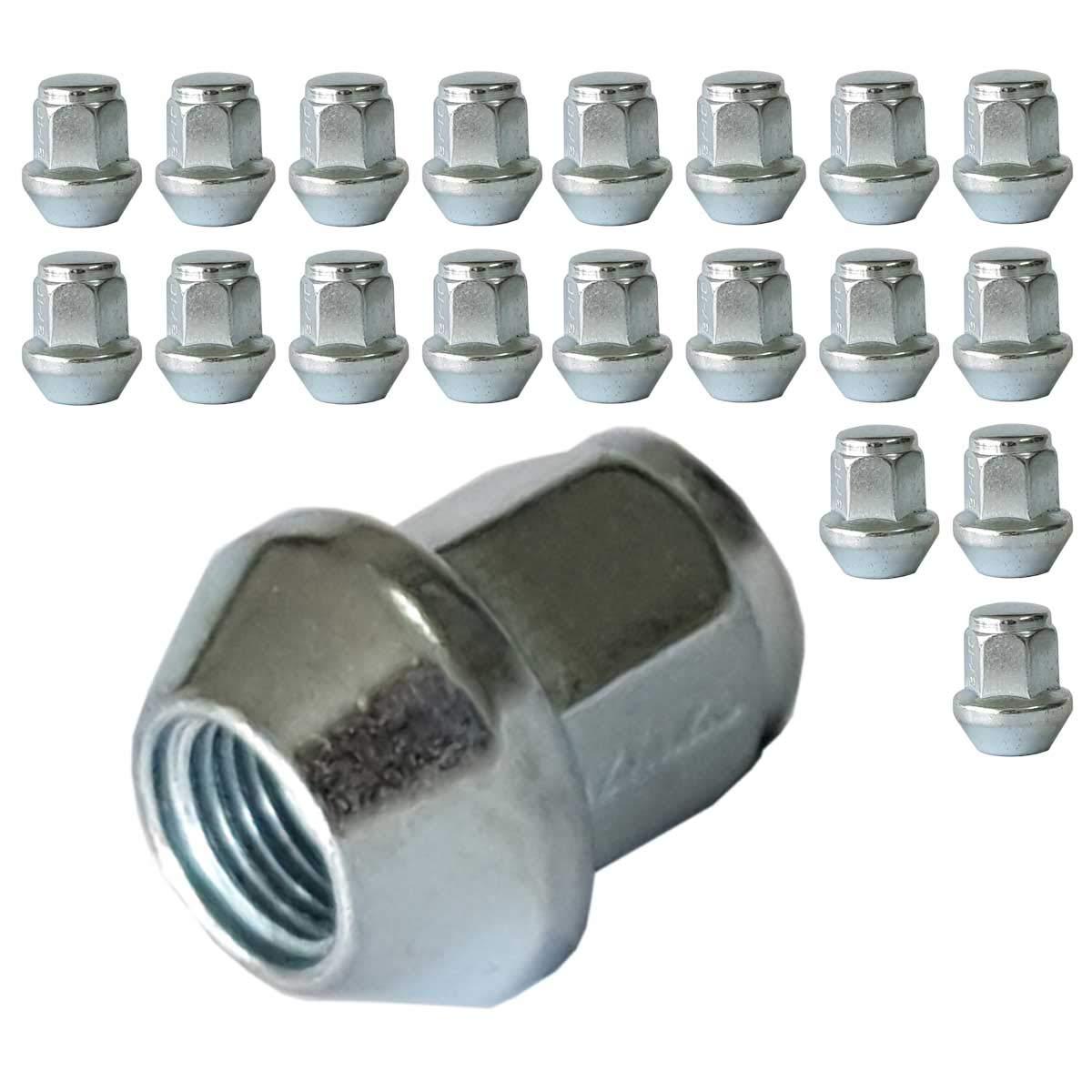 Lot de 20 /écrous de roue coniques M12 x 1,25 HEX17 CH DA